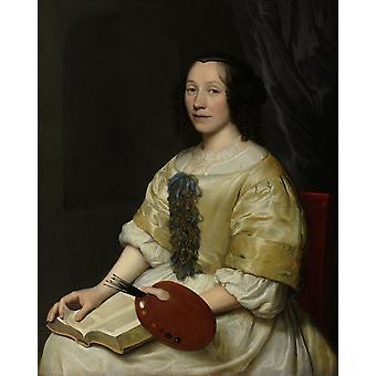 Maria Van Oosterwijck Poster Print