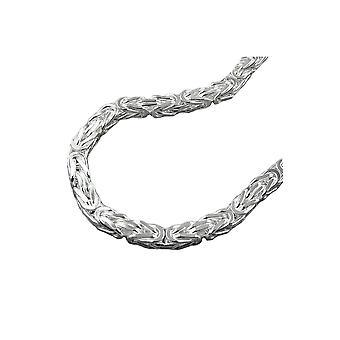 halskjede bysantinske kjeden sølv 925 55cm
