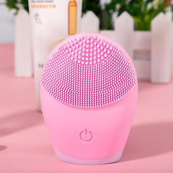 Facial Cleansing Brush Face Brush Electric Facial Massager Silicone Cleaner