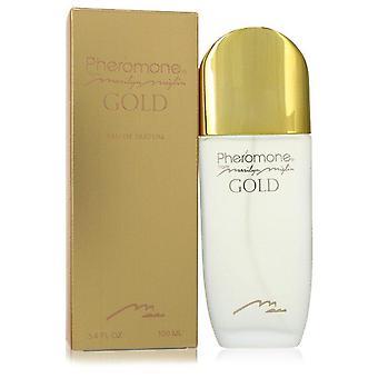 Pheromone Gold Eau De Parfum Spray By Marilyn Miglin 3.4 oz Eau De Parfum Spray