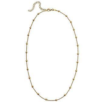 Början Boll Halsband - Guld
