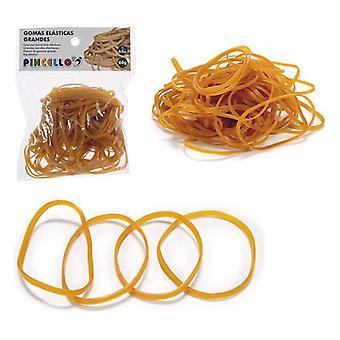 Latex rubber Geel (1 x 16 x 12 cm) Elastieken