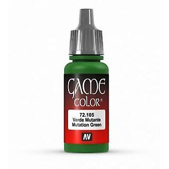 Vallejo Game Color 17ml Acrylic Paint 105 Mutation Green