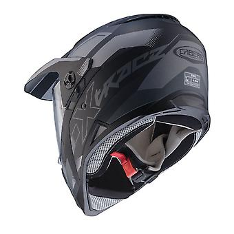 Caberg X-Trace Spark Black/Anthracite/Silver Helmet