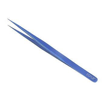 رقيقة سليم خط الطيران الأزرق الفولاذ المقاوم للصدأ حادة تصلب Tweezer