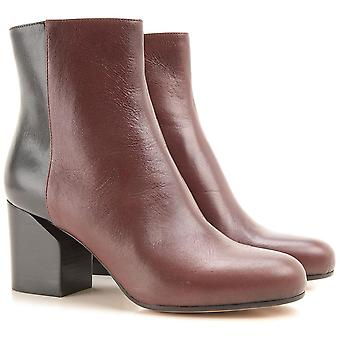 Maison Martin Margiela two tone leather booties