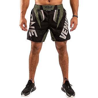 Venum One FC Impact Fight Shorts Black/Khaki