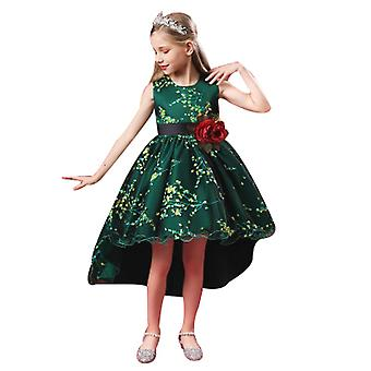 Princess Girls Dress For Wedding Birthday Party With  Size 3-14 Years