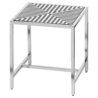Hill Interiors Inlay End Table