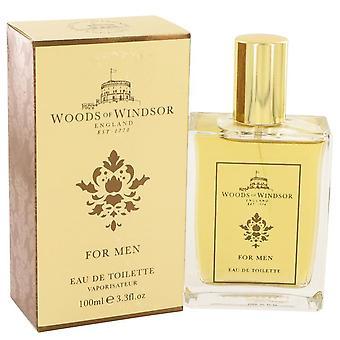 Woods Of Windsor Eau De Toilette Spray By Woods Of Windsor 3.4 oz Eau De Toilette Spray