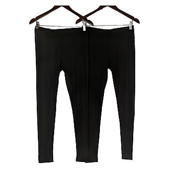 32 graders varme leggings Mænd's Quick Dry Stretch 2 Pack Sort