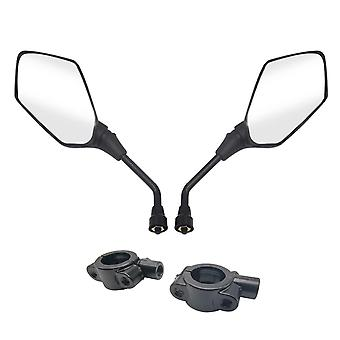 Universal rearview mirror wide angle for car truck