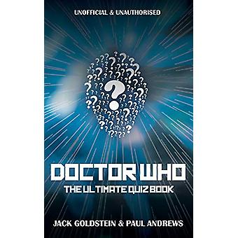 Doctor Who - The Ultimate Quiz Book by Jack Goldstein - 9781785383793