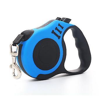 Einziehbare Hundeleine durable Nylon 3m oder 5m Verlängerung Blei Lock Button