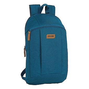 Casual backpack safta royal blue
