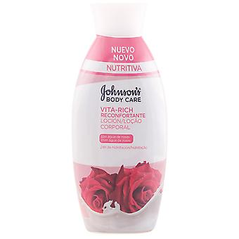 Johnson's Lait corporel apaisant à l'eau de rose Vita-Rich 400 ml