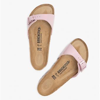 Birkenstock Madrid 1019976 (reg) Ladies Birko-flor One Strap Sandaler Yndefulde Lavendel Blush
