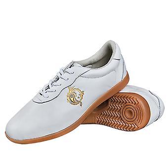 Arts Martiaux Kungfu Soft Leather Taiji Chaussures