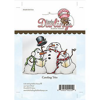 Little Darlings Stamp - Carolling Trio