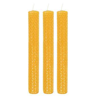 Etwas anderes Bienenwachs Kerzen (Packung von 3)