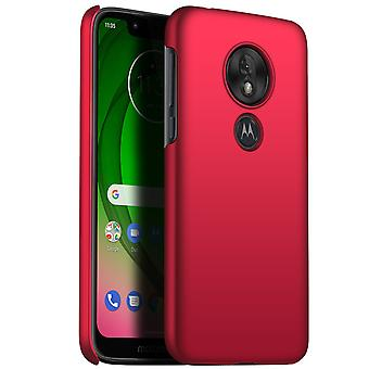 Ultra thin case for moto g7 play anti fall shockproof cover red kc356