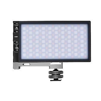 ALTSON R8 RGB Panneau de lumière vidéo Full Color LED Camera Light