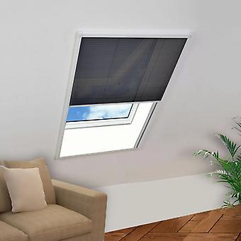 vidaXL Plisse insect repellent window 80×160 cm