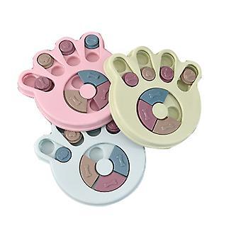 تغذية مخلب متعدد الوظائف طباعة التعليمية الكلب الغذاء القرص الدوار المضادة للاختناق أواني الطعام الكلب ية