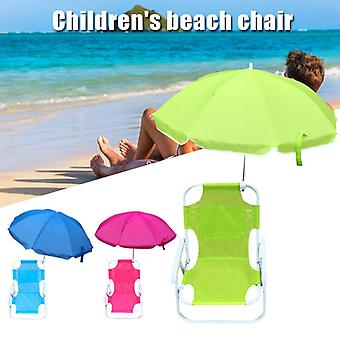 Beach Chairs and Umbrellas Outdoor Beach Folding Multifunctional Portable Deck Chairs for Children