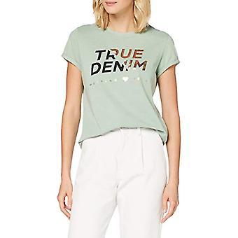 Mustang Alina C Foil T-Shirt, Lime, XS Woman