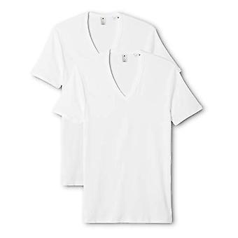 G-STAR RAW Basic V-Neck 2-pack kortärmad T-shirt, vit (vit 110), X-Small (förpackning med 2) män