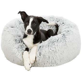 Trixie Harvey Black and White Round Bed for Dogs