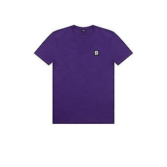 T-diegos diesel K30 Pequeno Logotipo T-shirt Roxo