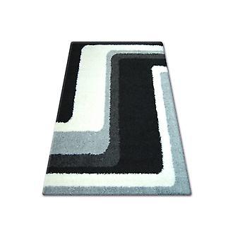 Rug SHAGGY ENA 2527 Nero / grigio