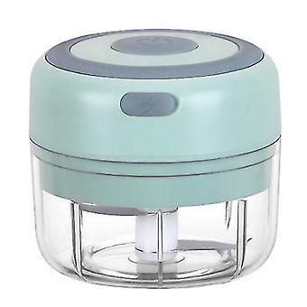 150Ml الأخضر مصغرة قابلة لإعادة الشحن اللاسلكية الثوم الكهربائية مهروس المطبخ المنزلية أداة طاحونة اللحوم صنع الغذاء التكميلي az20302