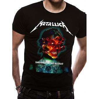 Metallica - Hardwired Album Cover Unisex Medium T-Shirt - Noir