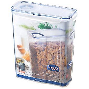 Lock & Lock Food Storage Container - Rectangular with Flip Top Lid 4.3L (237 x 112 x 280mm)