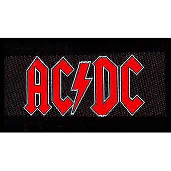AC/DC - Patch standard du logo rouge