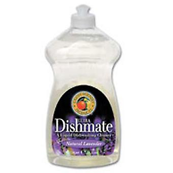 Earth Friendly Ultra Dishmate Liquid Dishwashing Cleaner, Natural Lavender 25 oz(case of 6)