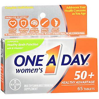 One-A-Day One A Day Women's 50+ Healthy Advantage Multivitamin - Multimineral Tablets, 65 Tabs