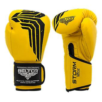 Boxhandschuhe Storm 10 oz - Gelb mit schwarz - Boxhandschuhe