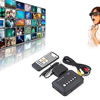1080p Hd Usb Hdmi Multi Tv Medien Videos Player Box Tv Videos Mmc Rmvb Mp3