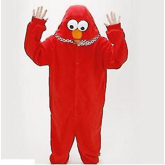 Adult Sesame Street Cookie Elmo Costume(XL)