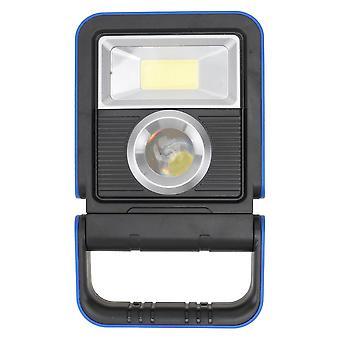 1Pc solaire lampe à main à lumière dure à led extérieure lumière de travail en cob de charge lumière de camping
