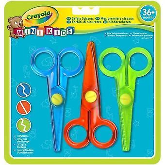 Crayola - Mini Kids - Mes premiers ciseaux (3) - Page à colorier pour les enfants et les tout-petits