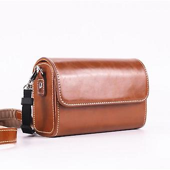 Suitable For Canon G7x25 Sony Zv1 Black Card Rx1007 Leather Case Lx10zs220 Ricoh Gr3 Universal Camera Bag