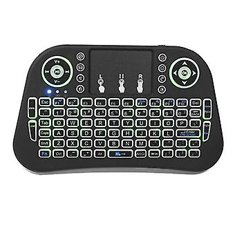 I10 Three Color Backlit 2.4G Wireless Mini Keyboard Touchpad Air Mouse