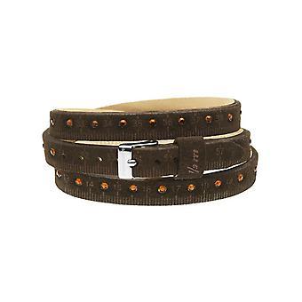 Il mezzometro strass leather bracelet  bmm1303_m