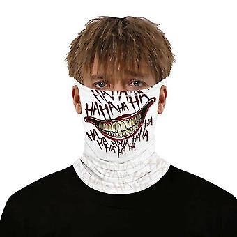 (#30) בלקלבה מסכת פנים רב-תכליתי צוואר צעיף צינור סנוד אופנוען בנדנה