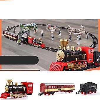 電動列車おもちゃレール リモコン鉄道模型セット